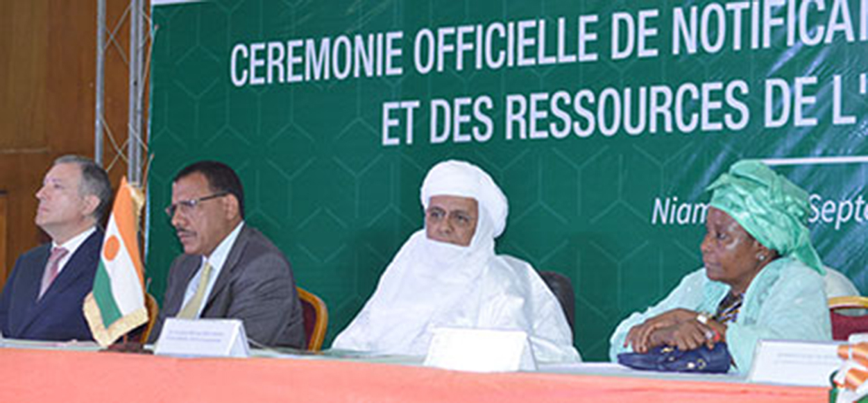 niger ceremonie transfert collectivité